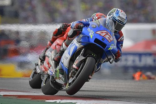 """Rins """"was trying to survive"""" in COTA MotoGP race"""