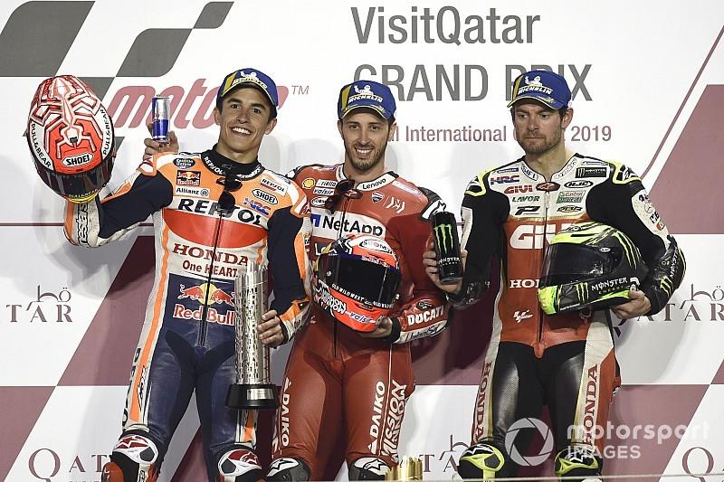 MOTO GP- Grand Prix du Qatar – Losail-10 mars 2019 - Page 3 Motogp-qatar-gp-2019-podium-se-2