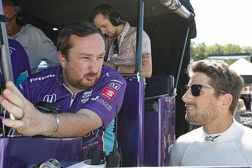 グロージャン、初挑戦のオーバルでも速さを発揮。エンジニアも来季の全レース参戦に太鼓判