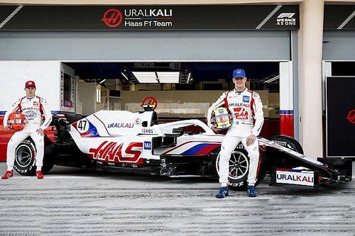 Haas lanza formalmente su coche VF-21 F1 en Bahrein