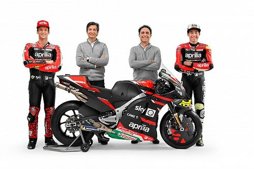 "MotoGP 2021 Aprilia's ""most important"" year - Rivola"
