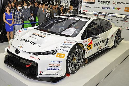 New Toyota Prius Super GT contender revealed