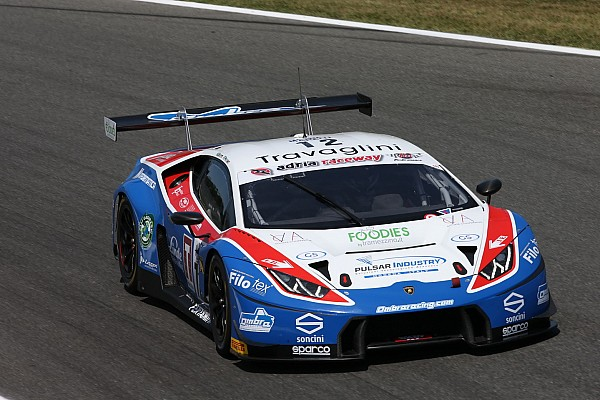 Mugello, Q2 SGT3-GT3: Frassineti in pole anche con un'escursione