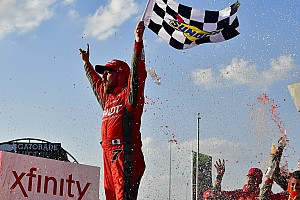 NASCAR XFINITY Relato da corrida Allgaier vence em Chicagoland e Xfinity define playoffs