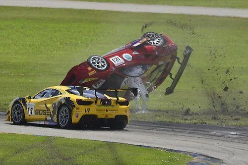 Galeri: Ferrari Challenge'da korkutucu kaza