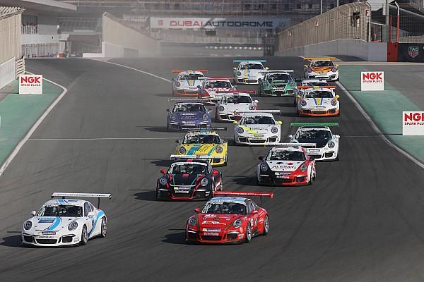 بورشه جي تي 3 الشرق الأوسط بورشه جي تي 3 الشرق الأوسط: كولين يحرز الفوز بالسباق الأول في دبي