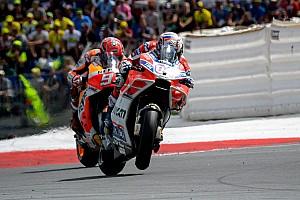 MotoGP Rennbericht MotoGP-Thriller 2017 in Spielberg: Dovizioso bezwingt Marquez