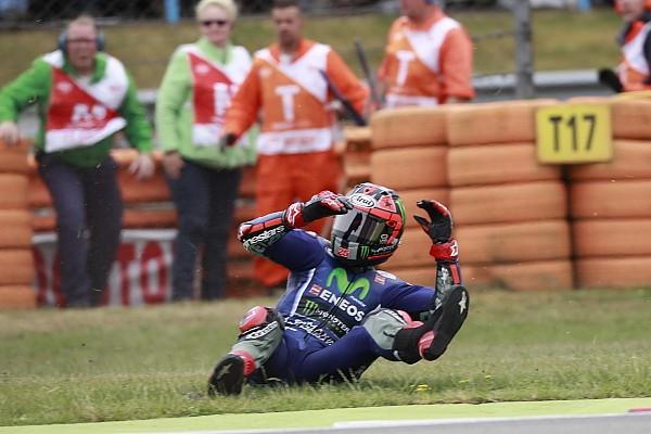 """MotoGP Noticias de última hora Viñales: """"Nunca me había caído tanto"""""""