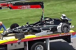 IndyCar Últimas notícias Newgarden sofre acidente em Indianápolis