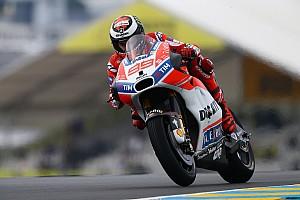 MotoGP Réactions Malgré un classement peu reluisant, Lorenzo est plus à l'aise