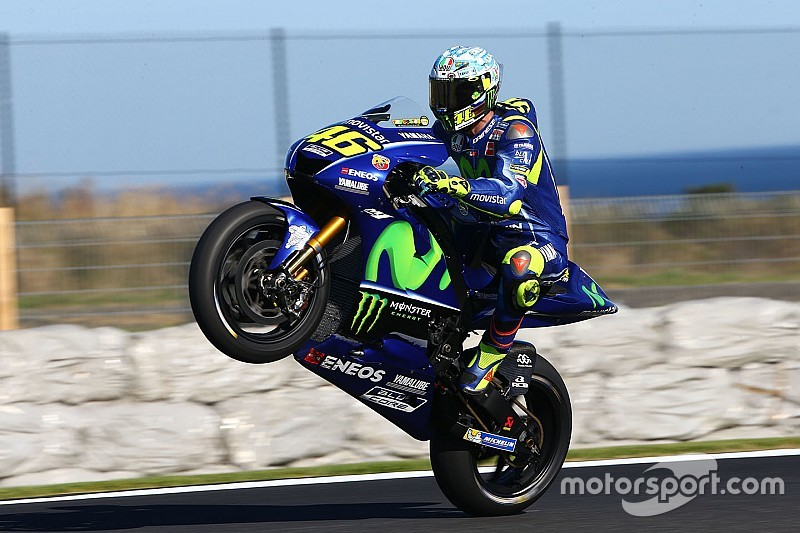 Motogp 2017 Valentino Rossi Goes In Wrong Direction On Day Two