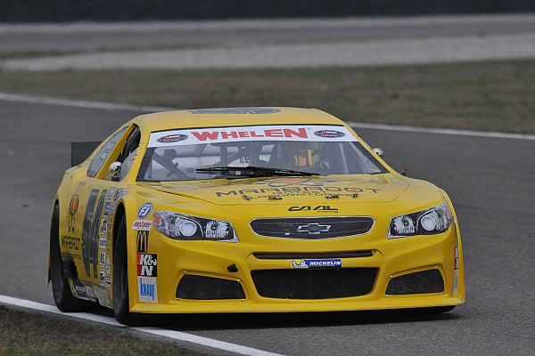Alon Day takes Elite 1 victory in NASCAR Whelen Euro playoff opener