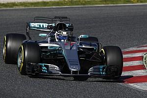 Mercedes supera a Ferrari en Barcelona