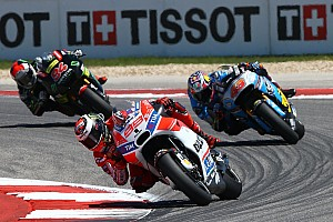 MotoGP Breaking news Lorenzo blames tyre graining for late Austin slump