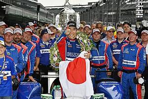 IndyCar Top List Galería: la celebración del único japonés que ganó en Indy 500