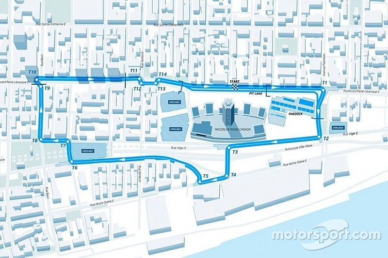 Formule E onthult parcours voor seizoensfinale in Montreal