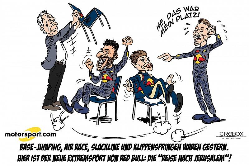 Cirebox: Die Sache mit dem Fahrerwechsel bei Red Bull