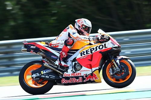 Hasil FP1 MotoGP Jerman: Marquez Dominan, Quartararo Sempat Terjatuh