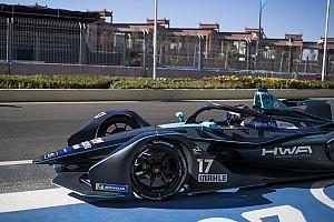 Diaporama : les Suisses lors des essais collectifs de Formule E à Marrakech