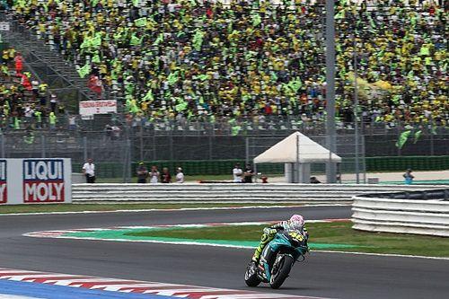 Valentino Rossi ému par l'acclamation du public de Misano