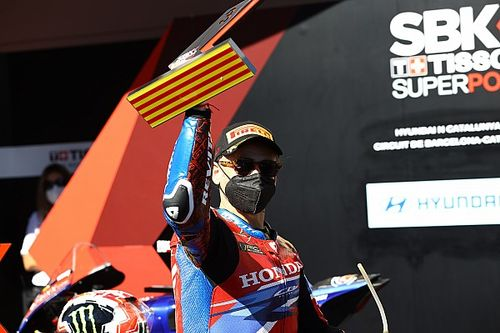 Alvaro Bautista Lega Bisa Bawa Honda Naik Podium