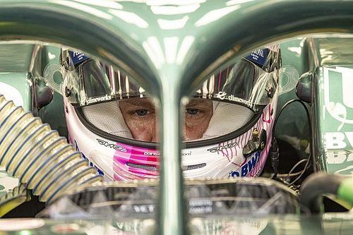 """Vettel: """"Il servosterzo Aston ha reazioni diverse"""""""