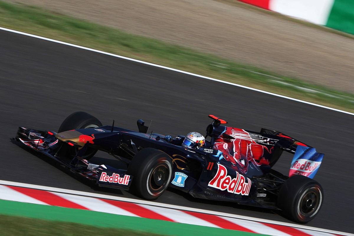 Сегодня Toro Rosso покажет новую машину Ф1. А пока посмотрите на старые