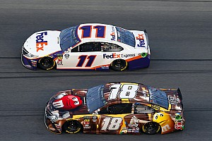 Kyle Busch laments 500 loss, but admits JGR win is