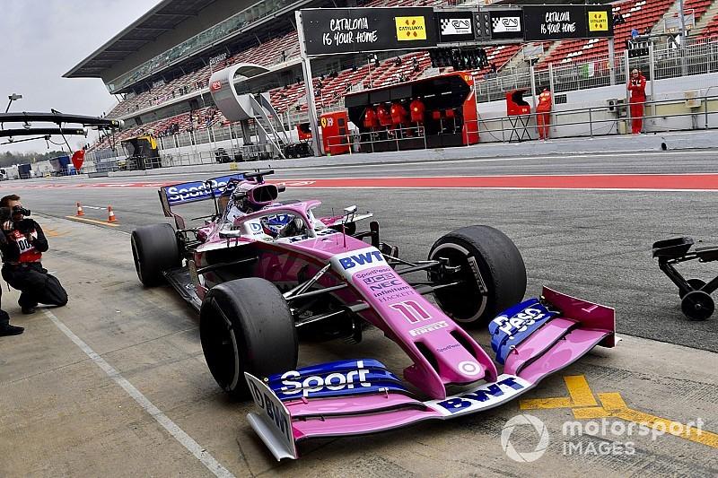 Tim F1 perbanyak stok sayap depan