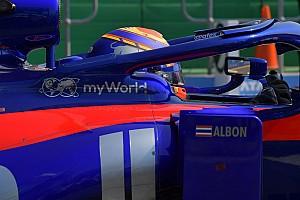 Подход Элбона к работе произвел приятное впечатление на Toro Rosso