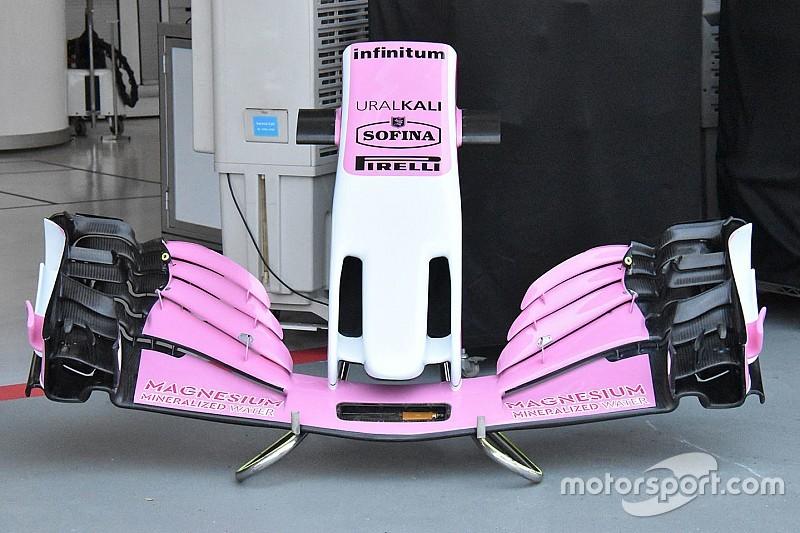 Graças a Stroll, Force India terá inovações em Singapura