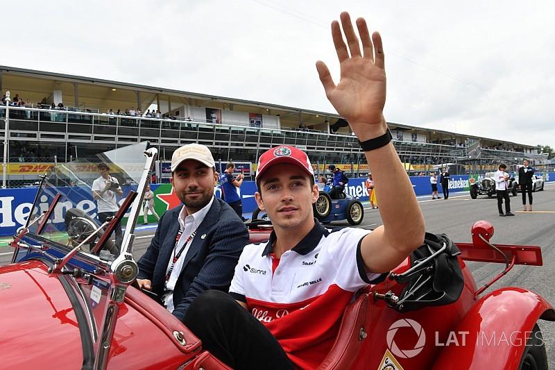 GALERIA: conheça a trajetória de Leclerc rumo à Ferrari