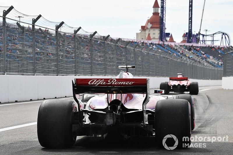 Giovinazzi: F1, arkayı gösteren kamera fikrini düşünmeli