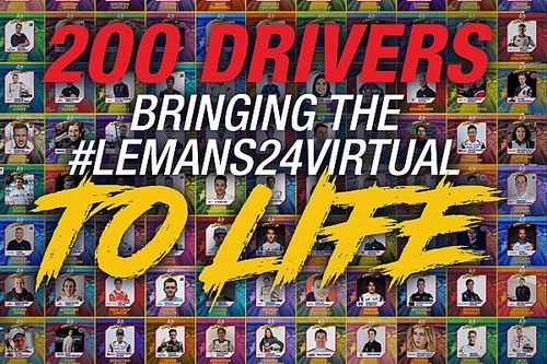Motorsport and Esports stars ready to take on Le Mans 24 Virtual