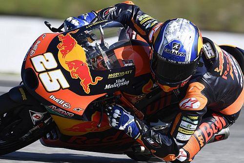 Moto3チェコ予選:鈴木竜生、好調維持の3番手。PPはフェルナンデスが初獲得
