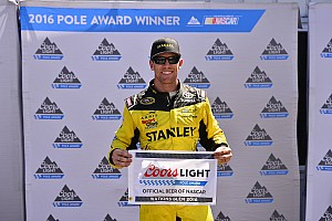 NASCAR Cup Qualifying report Carl Edwards snags pole position from Larson at Watkins Glen