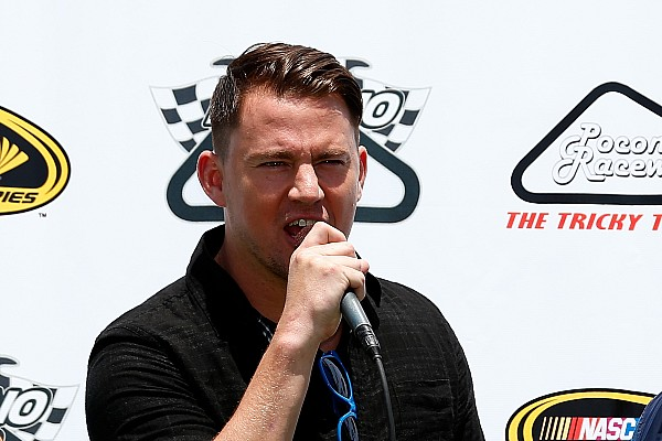 IndyCar Breaking news Channing Tatum to be grand marshal for Barber IndyCar race