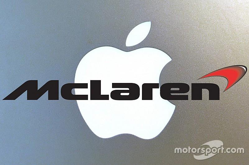 McLaren подтвердила факт переговоров с Apple