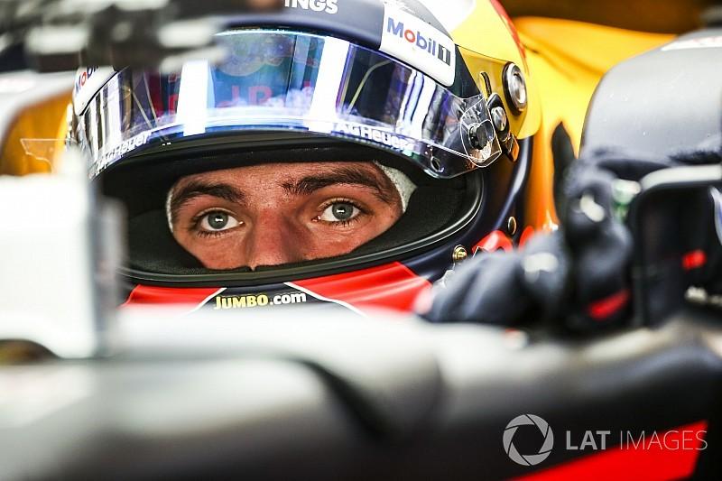 Verstappen et Ricciardo présentent leur casque 2018
