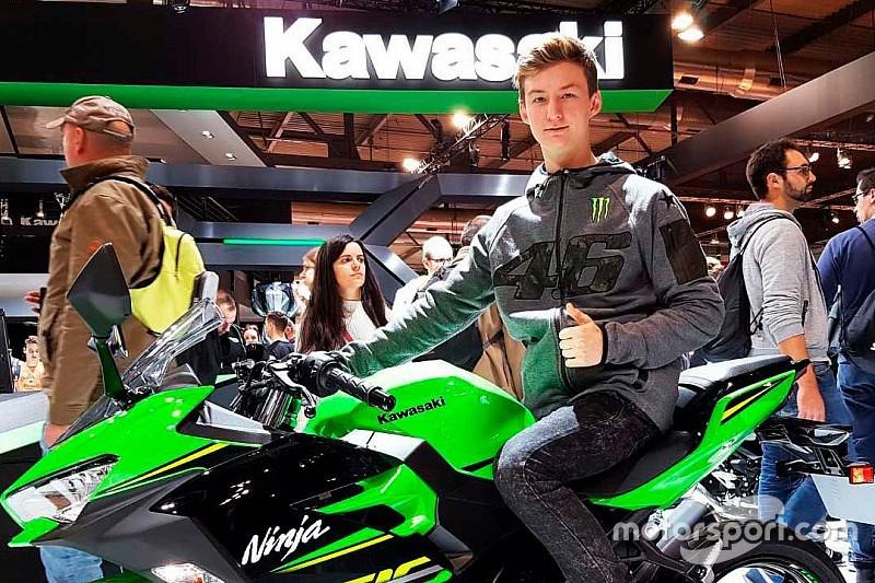 У 2018 році Калінін змагатиметься на Kawasaki