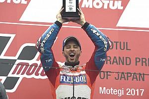 MotoGP Nieuws Dovizioso over thriller op Motegi: