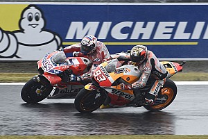 MotoGP Новость Маркес извинился перед Довициозо за агрессивный обгон
