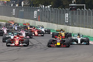 Formel 1 News Mehr Formel-1-Action: Bald wieder drei Autos pro Startreihe?