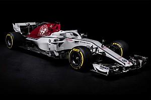 De cara nova, Sauber apresenta carro para temporada de 2018