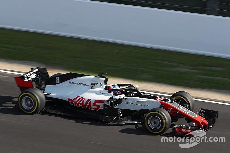 Grosjean sets aggressive Barcelona target for Haas