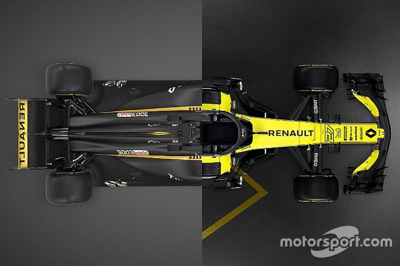 Comparación: Renault RS17 vs. RS18