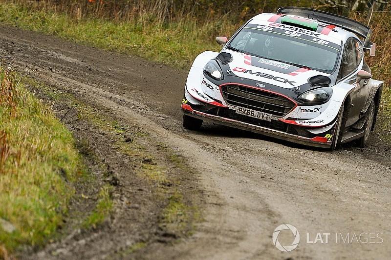 Galler WRC:  Evans, Tanak'la olan farkı açtı