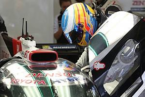 معرض صور: فرناندو ألونسو على متن سيارة تويوتا في البحرين