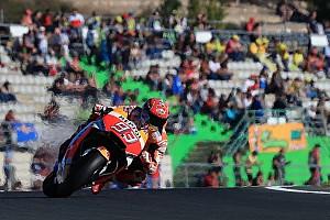 MotoGP Résumé de qualifications Qualifs - La pole position et une nouvelle chute pour Márquez