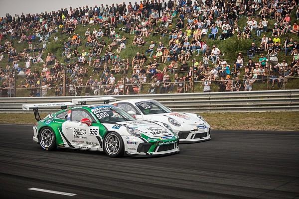Porsche Carrera Cup France Julien Andlauer résiste à Ayhancan Güven dans les dunes néerlandaises